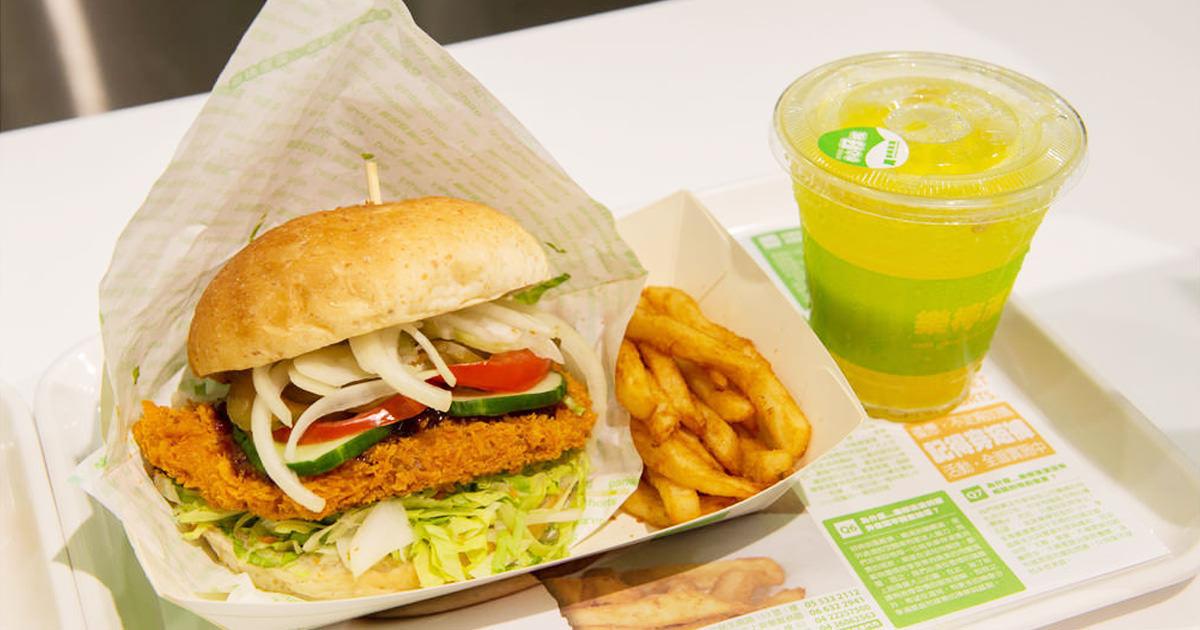 【台南中西區-美食】穿短褲薯條免費升等 嘉義來的漢堡美食 美食街美食~樂檸漢堡台南西門店