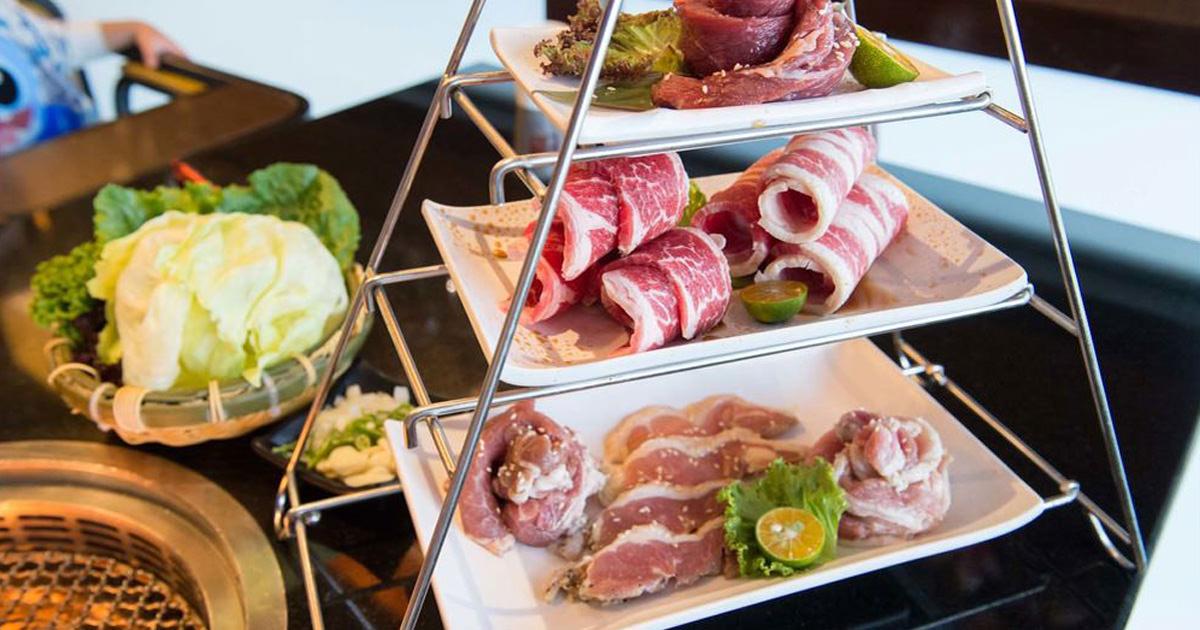 【台南安平區-美食】無煙燒肉 大口吃肉 雙人.四人套餐 韓式料理餐廳 ~ 東大門韓國烤肉料理館