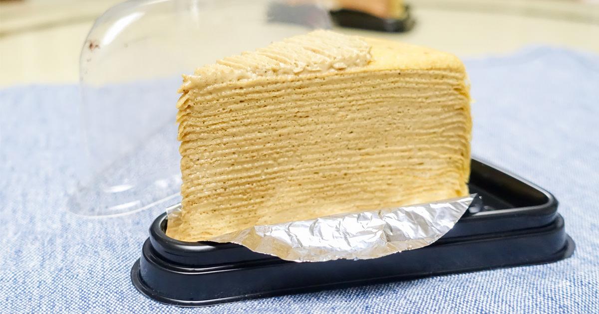【台南安平區美食】隱藏版手作千層蛋糕|平日僅整模預訂販售|假日才有提供單片預訂~濃特慢手作千層