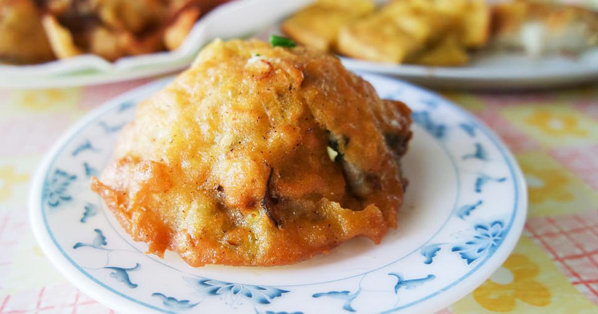 【台南美食】青鯤鯓小漁村美食|料多實在台式炸物~~古早味蚵嗲