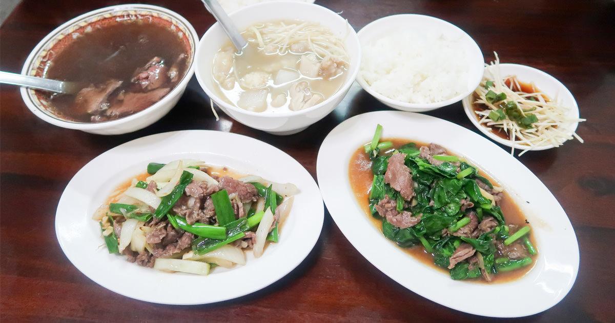 【台南美食】在地人口袋名單|低調的美味|早上現宰牛肉~阿棠牛肉湯爐