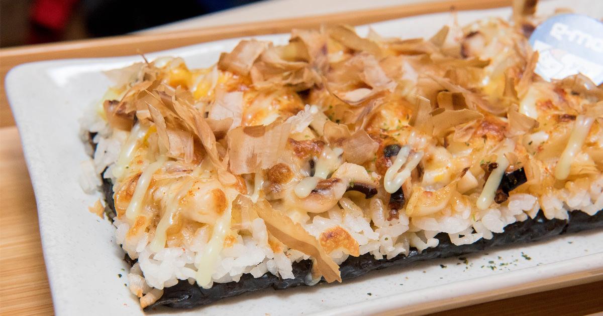 【台南美食】日式壽司與美式起司的結合|台南首家創意焗烤壽司|外帶享優惠~~焗米G-me