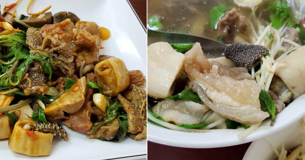 【台南美食】台南牛雜湯專賣店|大份量牛雜料理|新都路美食~~姜姐牛雜湯