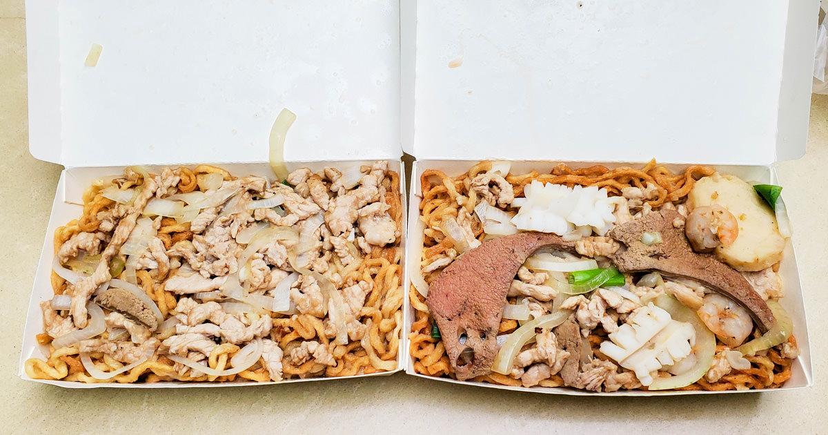 【台南美食】60年傳統炒麵老店|招牌八寶意麵|老饕腦髓煎蛋~~老得伯古早味麵店