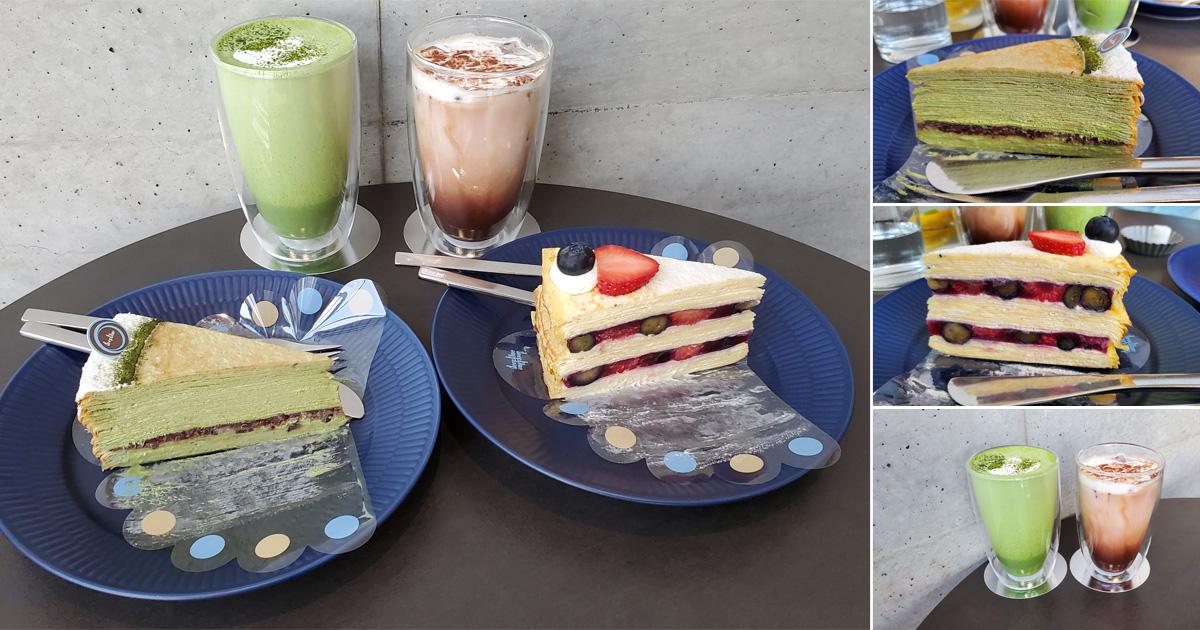 【台南美食】沒吃過這家千層別說你來過台南 千層蛋糕旗艦館 12款千層任你選 單片.盒裝~~深藍蛋糕旗艦店
