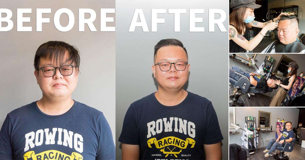 【台南造型】男子專屬美式剪髮 南紡購物中心剪髮 剪髮包含洗髮和修容 美式不是只有油頭設計~~90sbarbershop