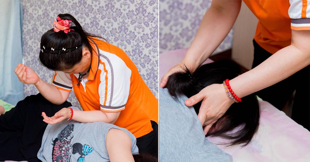 【台南按摩】全店按摩師都具有技術士證照 用心感受盲人按摩師的專業~~佑明示範按摩中心