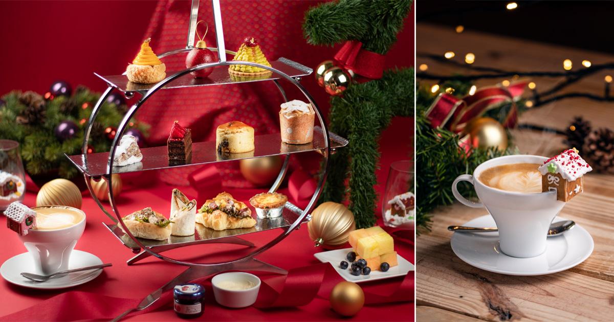 【臺南美食】今年冬天我想來點萌系聖誕下午茶|薑餅屋杯緣子|聖誕下午茶套餐~~台南大員皇冠假日酒店289吧
