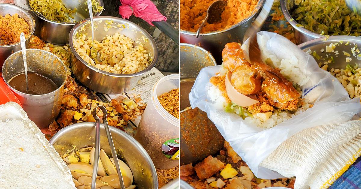 【臺南美食】一天只賣3小時晚來吃不到|獨家沙茶口味|在地人早餐口袋名單~~國安街劉姐姐飯糰
