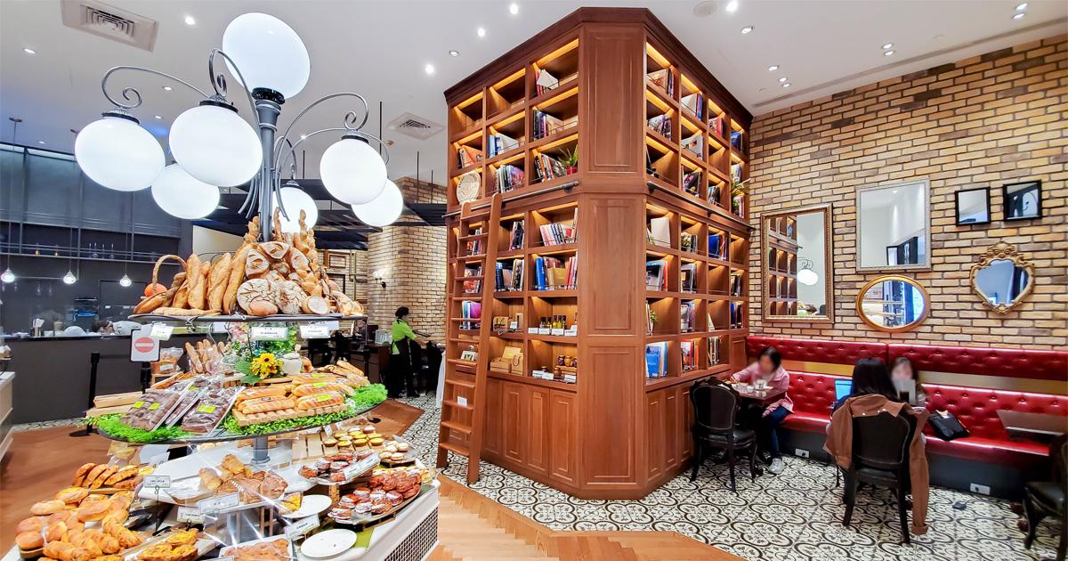 【台北美食】巴黎當地人氣排隊名店|法國費加羅報中評選為第一|招牌第一名長棍麵包|巴黎最美味蘋果塔|微風南山點心麵包~~le Boulanger de monge
