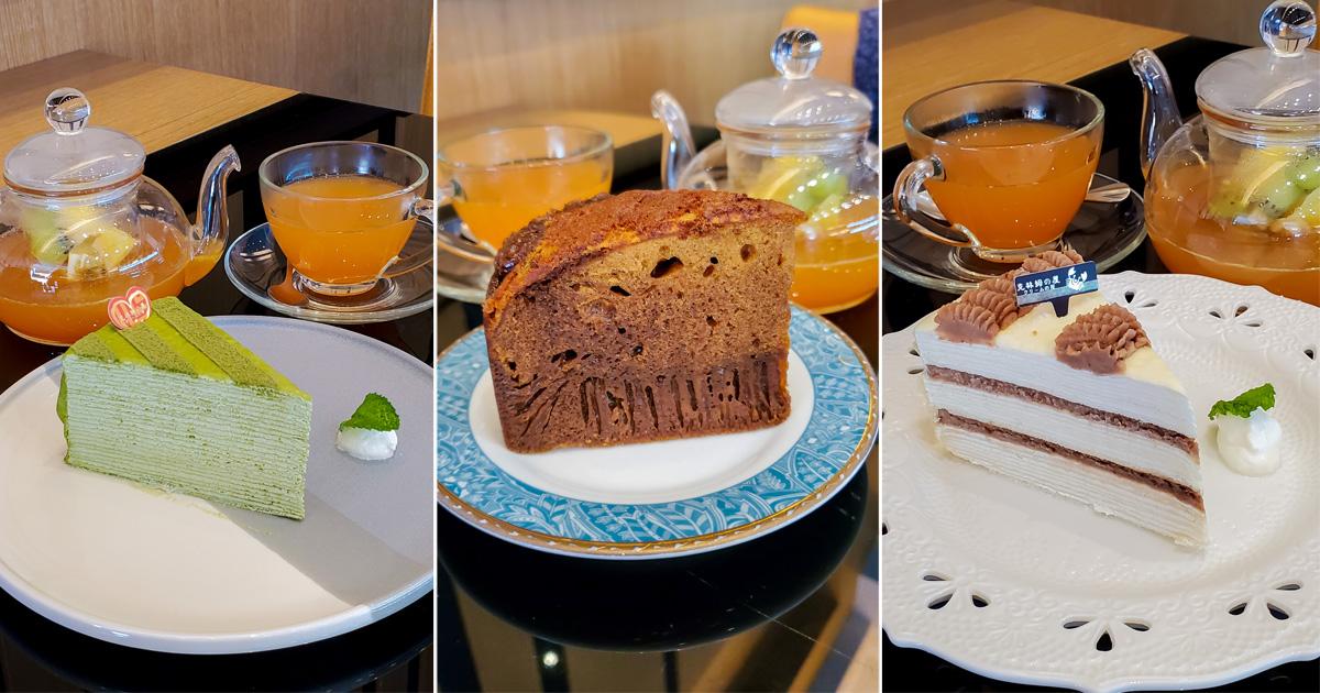 【臺南美食】臺南知名經典千層名店|20款千層蛋糕|層層堆疊綿密口感|下午茶|千層蛋糕.蜂巢~~克林姆之屋