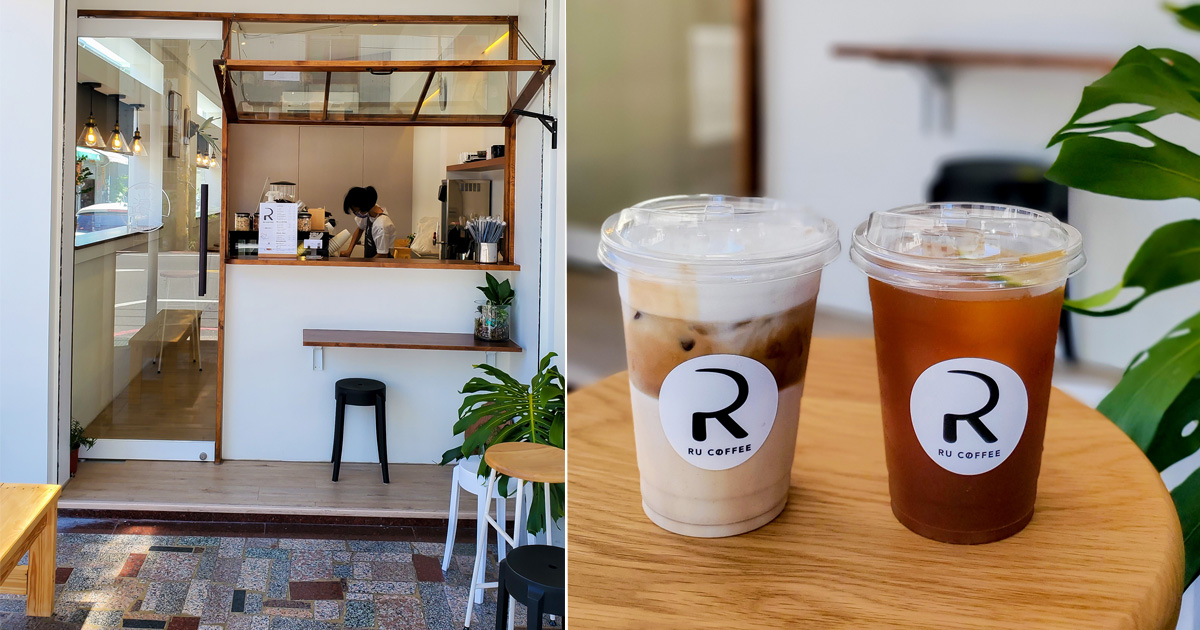 【臺南美食】果菜市場咖啡館開新分店|早上六點開始營業|外帶比內用更便宜|輕食即將推出~~RU coffee國安店