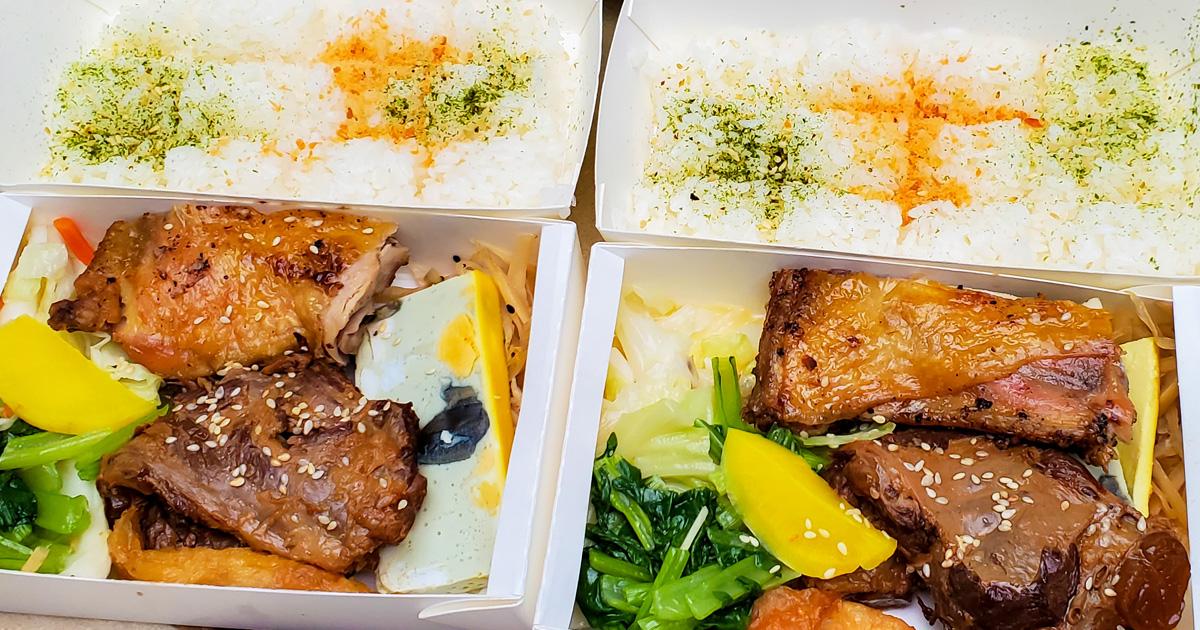 【臺南美食】台南人的口袋日式便當|雙主菜75元起|人氣炸豬排搭鹽烤雞塊|招牌軟骨搭鹽烤雞腿肉|外帶外送日式便當~~泉屋日式便當
