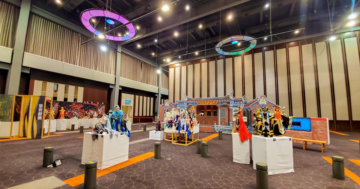 【高雄活動】一起來體驗台灣獨特的傳統文化|8月15日唯一一場表演秀|台中木偶動園~~王英傑戲偶展