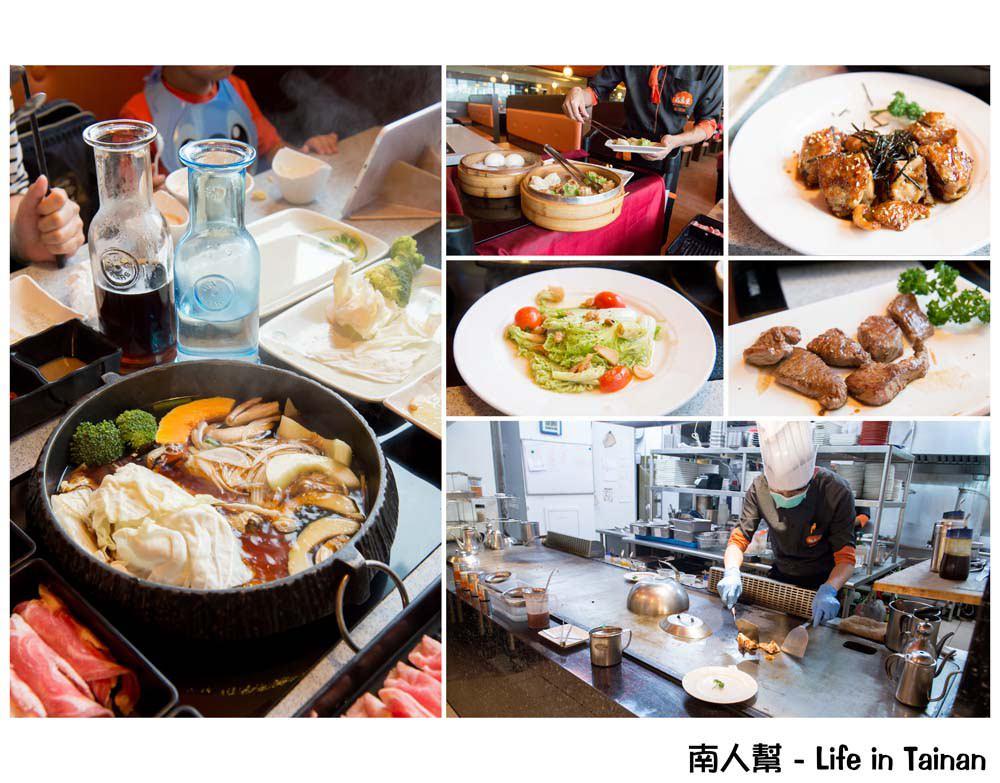 【台南東區-美食】全台南首創鐵板燒&壽喜燒吃到飽 雙主餐.哈根達斯任你吃到飽 ~ 福豆屋(德安百貨)