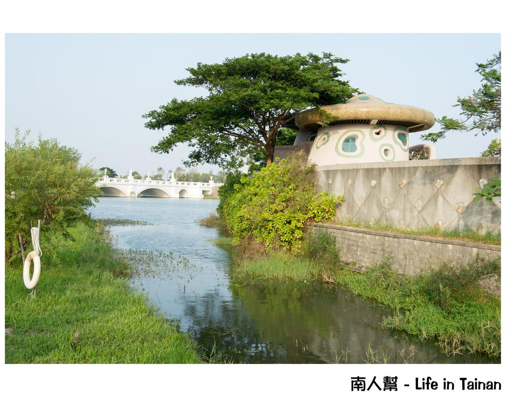 【台南市仁德區-兒童遊樂】傍晚時刻總會有出現許多小矮人 #都會公園 兒童島#