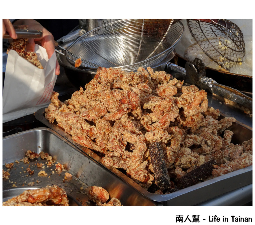 【台南市安南區-美食】安南區保安宮三角骨 鹹酥雞
