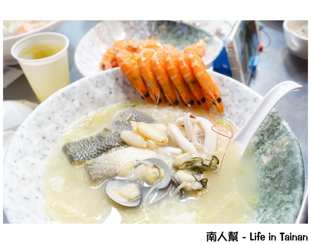 【台南中西區-美食】網路評價高的海鮮粥|料多實在|爆料海鮮粥|隱藏版大碗海鮮粥需預訂 ~ 一允堂海鮮粥