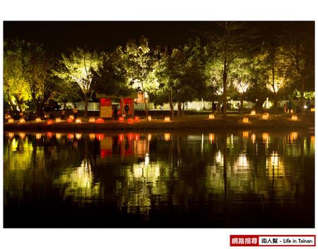 【台南市活動】2014月津港燈節