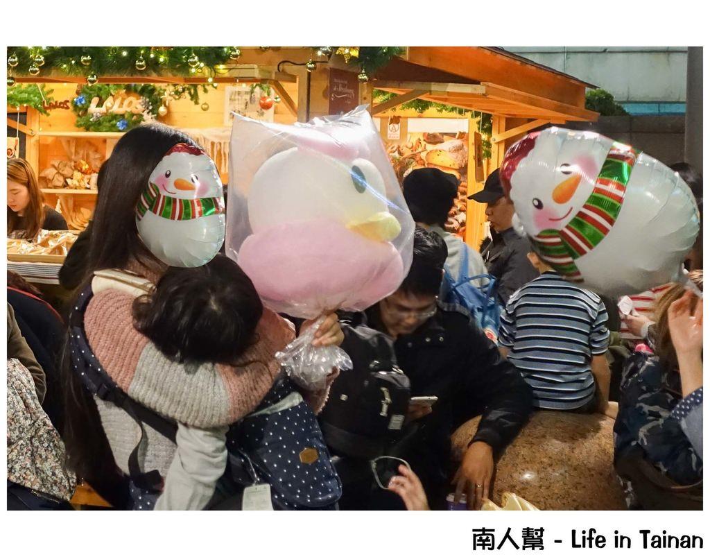 台北101的法國百年史特拉斯堡耶誕市集