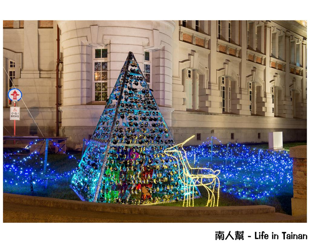 2015台南七大聖誕裝飾