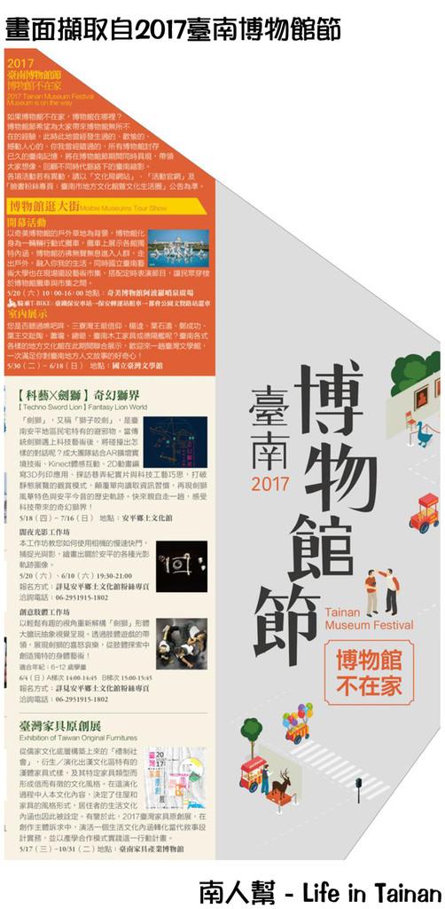 2017臺南博物館節