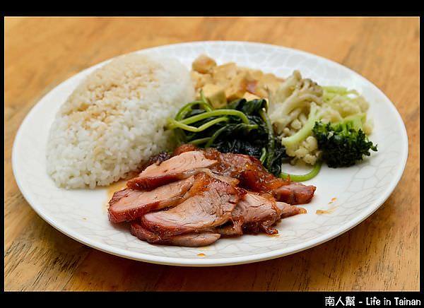 九旺燒臘-蜜汁叉燒飯(70元)