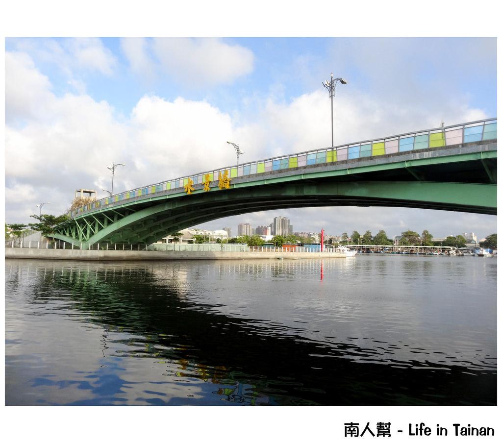 【台南市安平區-景點】安平看海景的橋# 安平水景橋 #