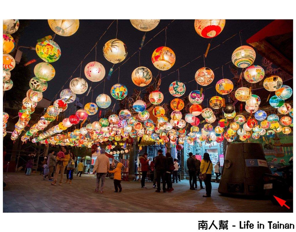 2017 普濟殿花燈展 佇廟埕點燈