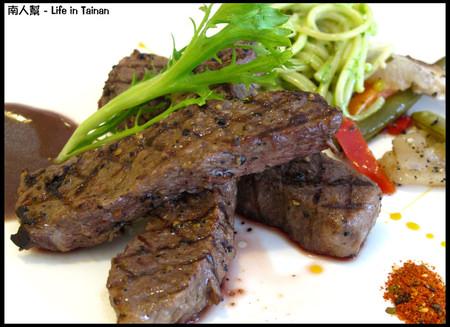 羅萊義法廚房-鐵扒美國Choice牛小排佐波特酒醬汁(套餐600元)01