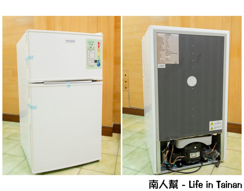 【3C與家電】小空間專用90公升冰箱#美國富及第雙門冰箱(FRT-0901M)#