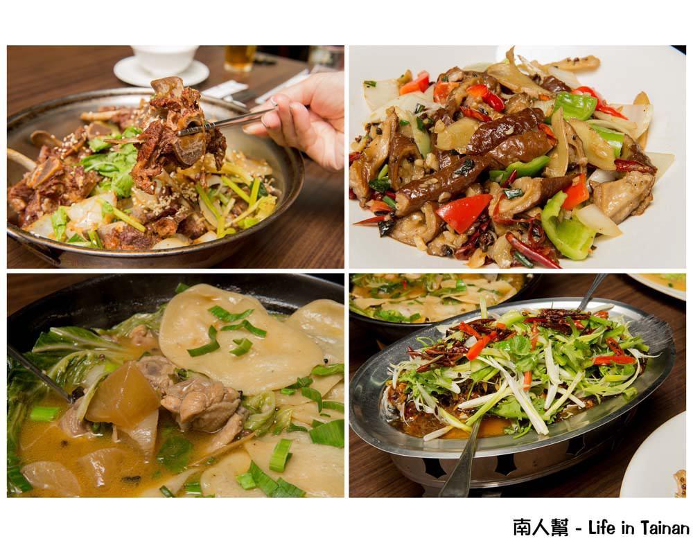 【台南東區-美食】聚餐|家庭吃飯|平日午餐限定羊蠍子個人版|道地北方徐州菜 ~ 大翟門地鍋雞