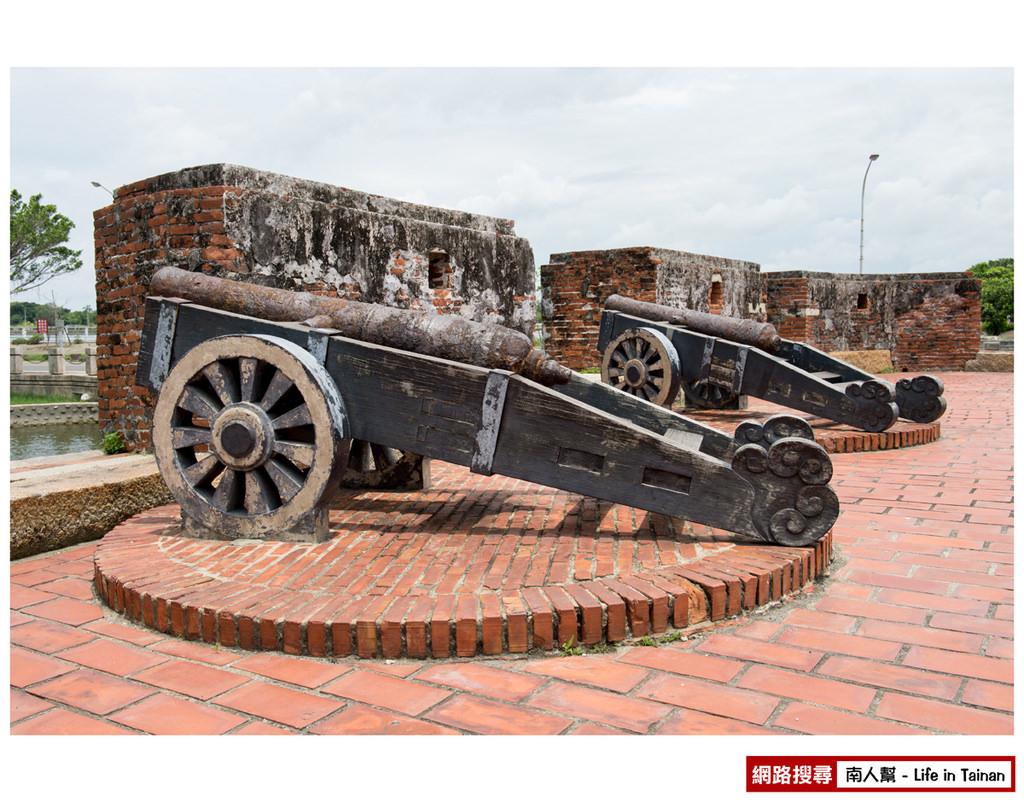 安平小砲臺、乾隆海堤