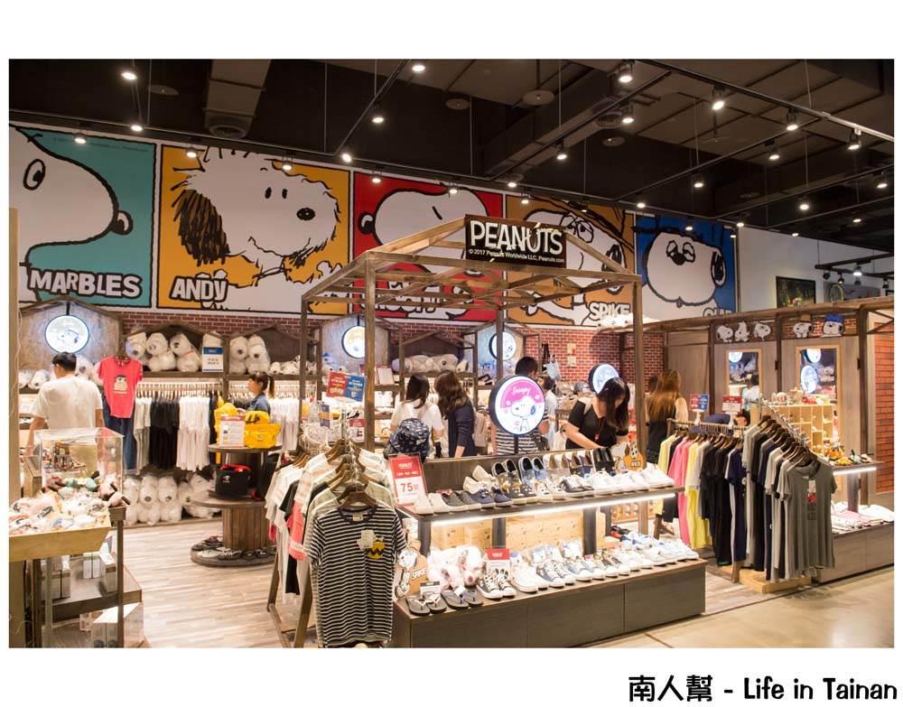 台南PEANUTS史努比專賣店