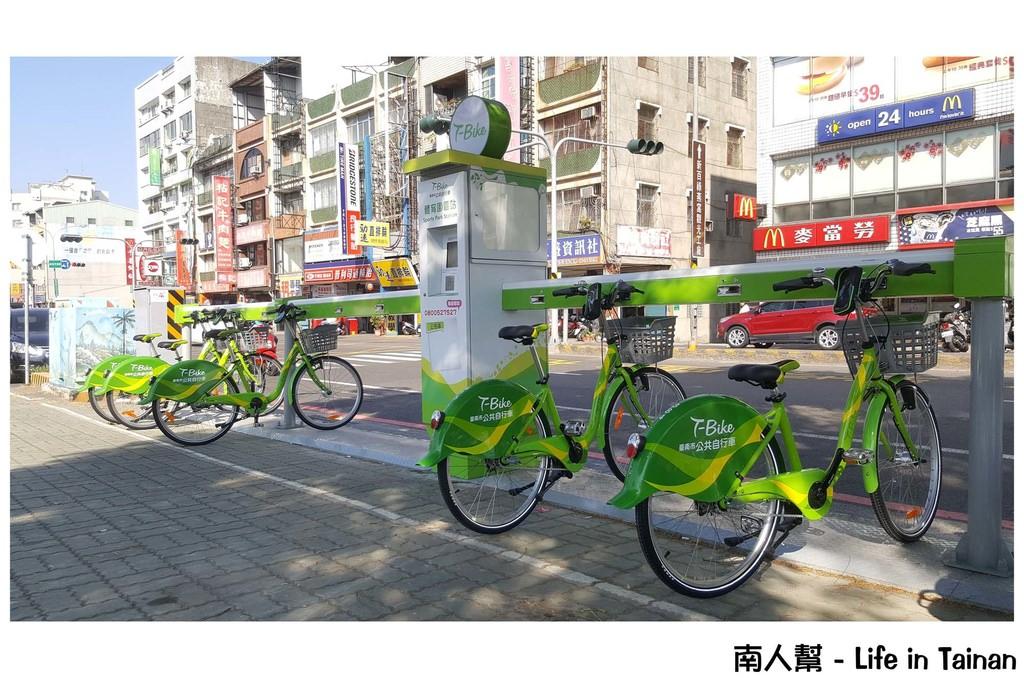【台南市交通工具】遊府城就是要慢慢走.慢慢遊.放慢腳步享受獨特的台南~~T-Bike騎單車遊府城