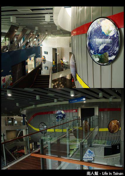南瀛天文教育園區-數位球幕3D的星象劇場01